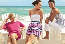 Beach Fashion - Pink & Purple / by Melissah ~ Coastal Style