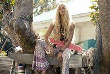 Beach Fashion - Bohemian / by Melissah ~ Coastal Style