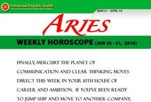 Zodiac Sign ARIES / Find more truths about Zodiac Sign Aries! Read and check their Monthly horoscope, monthly love horoscope, weekly and daily horoscope and more about their qualities on Universal Psychic Guild