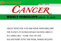 Zodiac Sign CANCER / Find more truths about Zodiac Sign CANCER! Read and check their Monthly horoscope, monthly love horoscope, weekly and daily horoscope and more about their qualities on Universal Psychic Guild