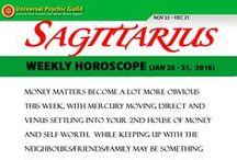 Zodiac Sign SAGITTARIUS / Find more truths about Zodiac Sign SAGITTARIUS! Read and check their Monthly horoscope, monthly love horoscope, weekly and daily horoscope and more about their qualities on Universal Psychic Guild.