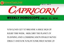 Zodiac Sign CAPRICORN / Find more truths about Zodiac Sign CAPRICORN! Read and check their Monthly horoscope, monthly love horoscope, weekly and daily horoscope and more about their qualities on Universal Psychic Guild.