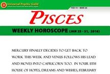 Zodiac Sign PISCES / Find more truths about Zodiac Sign PISCES! Read and check their Monthly horoscope, monthly love horoscope, weekly and daily horoscope and more about their qualities on Universal Psychic Guild.