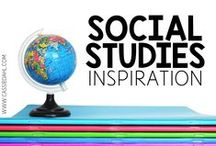 Social Studies Inspiration / Ideas and inspiration for all things Social Studies and History! Lessons, videos, anchor charts, actives and more!