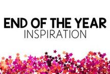 End of the Year Inspiration / Ideas and blog posts about preparing for and celebrating the end of the school year.