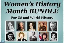 Secondary Holiday and Seasonal Resources / Middle and High School resources from Stephanie's History Store for holidays and seasonal topics (9/11, Veteran's Day, Thanksgiving, Christmas, MLK Jr Day, Presidents' Day, Black History Month, Women's History Month, Memorial Day, etc).