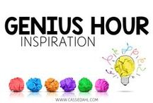 Genius Hour Inspiration / This board is full of ideas, inspiration, how-to blog posts and more all focused on Genius Hour in the elementary classroom!