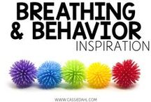 Breathing and Behavior Inspiration / This board contains ideas for managing classroom behaviors, calming techniques and breathing exercises perfect for kindergarten-6th grade.