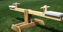 Legetøj & Sanseting / Udendørsspil og lege både indendørs og udendørs og sanseting til børn