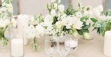 Weddings | Centerpieces / Gorgeous Wedding Centerpiece Inspiration and Ideas. Rustic, Classic, Elegant, Stunning, Beautiful and even Some Budget Friendly Centerpiece Ideas!