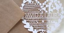 Weddings | Stationery / All the Wedding Stationery inspiration that you'll need! Wedding Invitations, Wedding RSVP Cards, Wedding Signs, Wedding Menus
