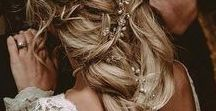 Weddings | Hairstyles / Wedding Hair For All Hair Types | Thick, Thin, Long, Short, Curly, Straight