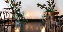 Weddings | Ceremonies / Wedding Ceremony Décor Inspiration! Aisle Décor, Pew Décor, Church Decorations, Alter Décor and so much more!