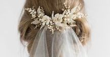Weddings | Veils and Accessories / All the pretty Wedding Accessories! Wedding Veils, Wedding Hair Combs, Wedding Necklaces, Wedding Shoes, Wedding Jewellery!