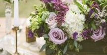 Wedding Themes | Ultraviolet / Inspiration for designing a wedding using Pantone's 2018 colour of the year - Ultraviolet. Classic and stunning ways to include Ultraviolet into your wedding theme! \ Ultraviolet, Lilac, Greenery & Ivory