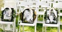 Weddings | Memorial / Wedding Memorial Display Ideas | Include Grandparents, Family, Friends and others who have passed in your Wedding Day Celebration