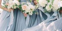 Wedding Themes | Beach / Classy and Elegant Beach Themed Wedding Inspiration | Dusty Blue, Greenery & Ivory