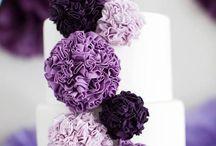 Purple, lilac Cake