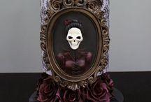 Gothic, Steampunk, Victorian Cake