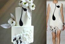 Dress cakes
