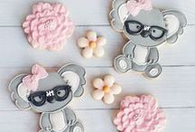 Cute Decorated Cookies / All kinds of cute cookies decorated with royal icing.