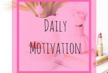 Daily Motivation / Daily doze of motivation that keeps us pumped up :)