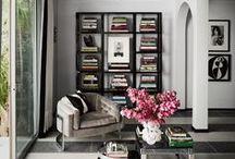 Opulence: Silver Screen / Feminine, glamorous interiors