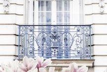 Opulence: Parisian Angel/WOW Paris / Blush & White on white Parisian inspired decor