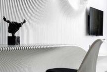 Playful: Future (White On White) / Futuristic design for abodes & decor, in white.
