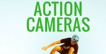 Action Cameras / Often times for leisure purposes, making short videos and sometimes perhaps for the sake of supervision, we set up cameras to our body parts and a lot more other places. Small and portable cameras which can be used for such purposes are known as action cameras.