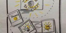 Flipchart - Agenda & Abläufe / Hier findest du verschiedene Ideen, wie du deine Flipchart - Agenda gestalten kannst.