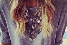 clothes and jewelry / by Camila Nevin
