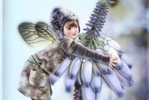 Fairies (the Wee Folk) and Angels / by Barb Braun