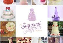 The Sugared Saffron Cake Studio / London Wedding Cakes. Work from our very own London wedding cake studio. Contemporary design with excellent service.