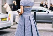 Street style / Women's fashion spotted on the street - street style