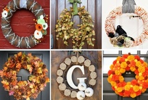 Craft | Wreath Ideas / I love to make wreaths. This folder has all types of wreaths. I also have other folders that are more specific to what type of wreath it is. I also have a Burlap, Yarn & Twine, Tulle, Picture Frame, Branch, Baby & Kids, Manly, Sports, & Teacher Wreaths folder.  / by Brooke Anne