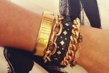 Arm Yourself! / Bracelets for stacking