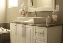 Bathroom ideas / by Tricia Lally Dymond
