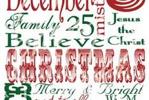 C - Christmas - Printables / by Denise Temple