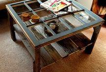 upcycled antiques! / by Judy Ryan