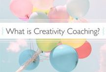 Creativity Coaching / Creativity Coaching: my work as founder of The Joy, Fun & Ease School of Creativity.  Aka; helping lovely creative types to discover or recover their creative spirit and craft a lifestyle that supports their Big Dreams.