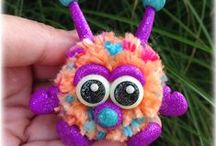 FuzzyKims Monsters & Characters / Cute Collectible Whimsical Polymer Clay FuzzyKims that come in a handmade gift box along with an adoption certificate. These are available on my website. Visit my website at: http://www.kimmiesclaykreations.com  FuzzyKims©, are COPYRIGHTED by Kimmie's Clay Kreations®, 2017. All images, rights, colors, designs, concept, and intellectual property belong solely to the owner of Kimmie's Clay Kreations.