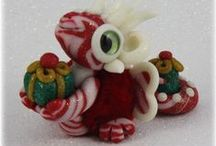 FuzzyKims - Christmas / Cute Collectible Whimsical Polymer Clay FuzzyKims that come in a handmade gift box along with an adoption certificate. These are available on my website.  Visit my website at: http://www.kimmiesclaykreations.com  FuzzyKims©, are COPYRIGHTED by Kimmie's Clay Kreations®, 2017. All images, rights, colors, designs, concept, and intellectual property belong solely to the owner of Kimmie's Clay Kreations.
