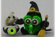 FuzzyKims Halloween / Cute Collectible Whimsical Polymer Clay FuzzyKims that come in a handmade gift box along with an adoption certificate. These are available on my website. Visit my website at: http://www.kimmiesclaykreations.com  FuzzyKims©, are COPYRIGHTED by Kimmie's Clay Kreations®, 2017. All images, rights, colors, designs, concept, and intellectual property belong solely to the owner of Kimmie's Clay Kreations.