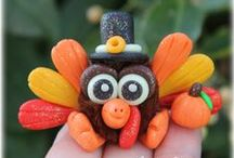 FuzzyKims Thanksgiving / Cute Collectible Whimsical Polymer Clay FuzzyKims that come in a handmade gift box along with an adoption certificate. These are available on my website. Visit my website at: http://www.kimmiesclaykreations.com  FuzzyKims©, are COPYRIGHTED by Kimmie's Clay Kreations®, 2017. All images, rights, colors, designs, concept, and intellectual property belong solely to the owner of Kimmie's Clay Kreations.
