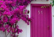 Knock, knock / painted doors around the world