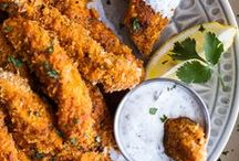 Good Chicken / food with chicken. obv.