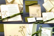 Customized Wedding Invitations / Handmade Papers, Fine Papers