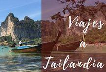 Tailandia con mochila   Viajar por libre / Viajar por libre, itinerarios en Tailandia, consejos, tips de viaje, rutas, gastronomía, precios, mochileros, transporte, alojamientos. #viajes #Tailandia #mochileros #caracolviajero