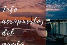 Entrar y salir aeropuertos / Cómo entrar y salir de los aeropuertos de las ciudades del mundo, aeropuertos del mundo, transporte en ciudades, Europa, América, Oceanía, Asia, África. #aeropuertos #viajes #caracolviajero